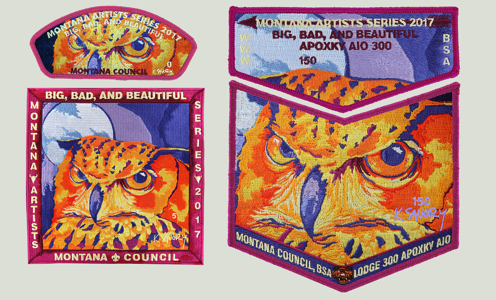 Big, Bad, and Beautiful, Limited Artist Series Patch
