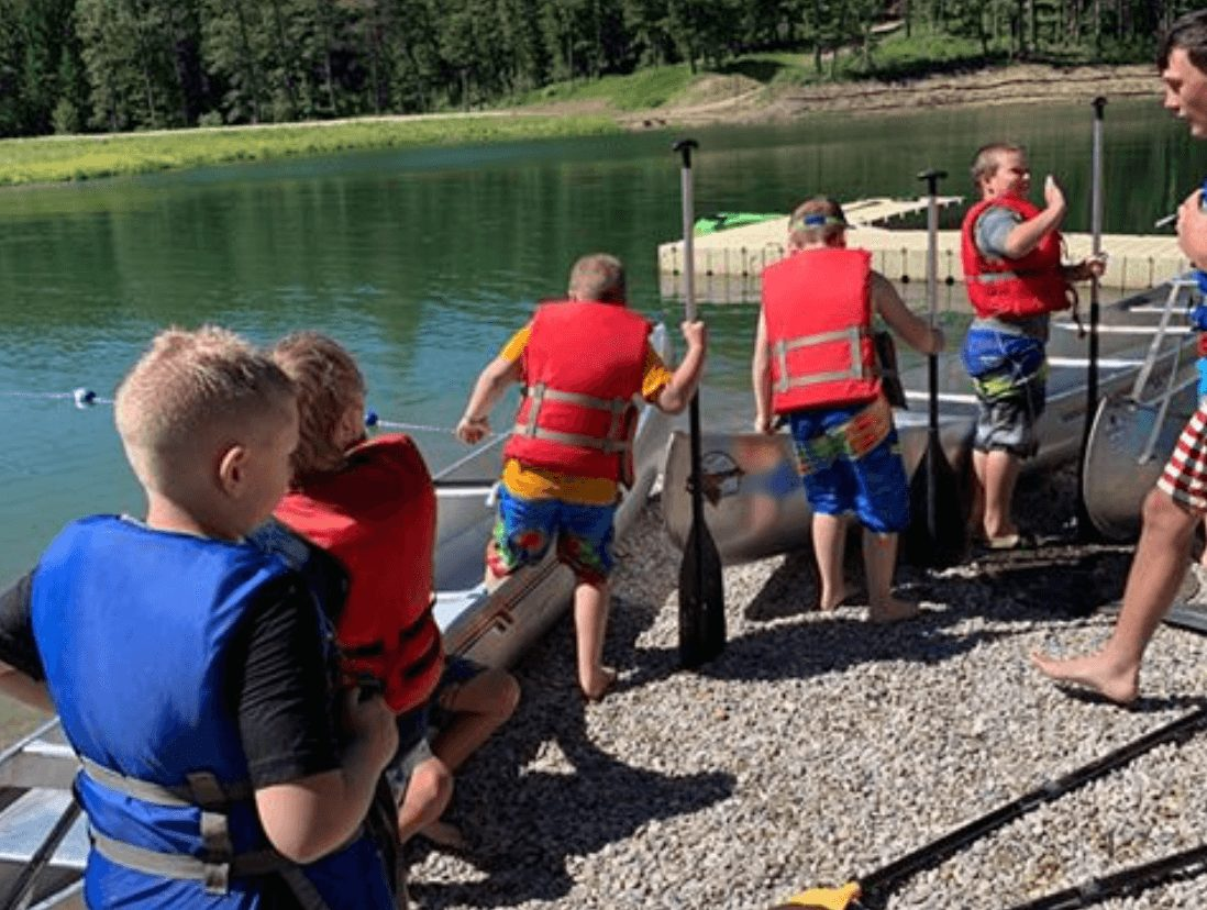 Cub Scouts on the Water